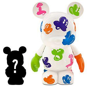 Vinylmation Oh Mickey! 3 White Figure + 1 1/2 Vinylmation Jr. Figure