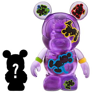 Vinylmation Oh Mickey! 3 Purple Figure + 1 1/2 Vinylmation Jr. Figure