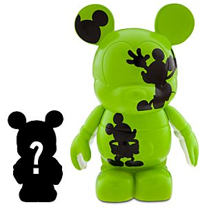 Vinylmation Oh Mickey! 3 Green Figure + 1 1/2 Vinylmation Jr. Figure
