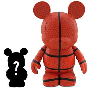 Vinylmation Sports Series 3 Basketball Figure + 1 1/2 Vinylmation Jr. Figure