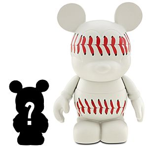 Vinylmation Sports Series 3 Baseball Figure + 1 1/2 Vinylmation Jr. Figure