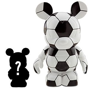 Vinylmation Sports Series 3 Soccer Ball Figure + 1 1/2 Vinylmation Jr. Figure