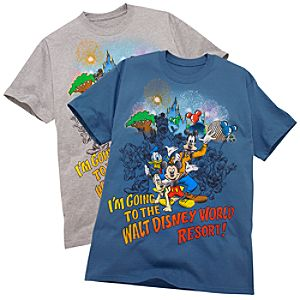 I'm Going to the Walt Disney World Resort! Tee for Adults