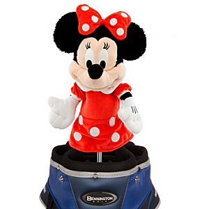 Minnie Mouse Plush Golf Club Cover
