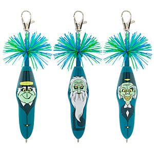 Kooky™ Hitchhiking Ghosts Pen Set -- 3-Pack