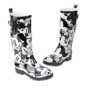 Mickey Mouse Rain Boots for Women