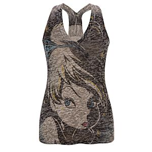 Burnout Vee-Neck Tinker Bell Tank for Women