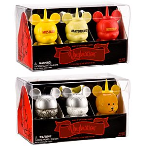 Vinylmation Condiment Set 3 -- 6-Pc.