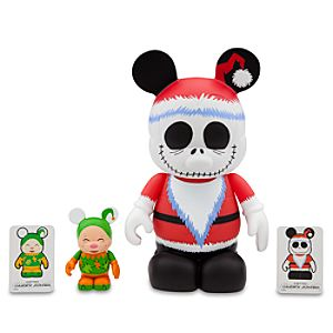 Vinylmation Santa Jack Skellington 9 Figure + Vinylmation Elf 3 Figure