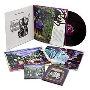 Limited Edition The Haunted Mansion 40th Anniversary Vinyl Album & CD Set