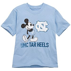 University of North Carolina Mickey Mouse Tee for Kids