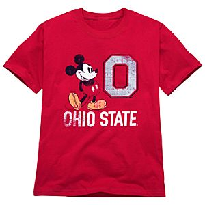 Ohio State University Mickey Mouse Tee for Kids