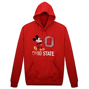 Ohio State University Mickey Mouse Hoodie for Men