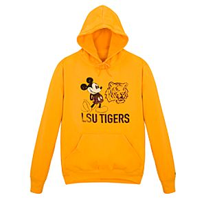 Louisiana State University Mickey Mouse Hoodie for Men