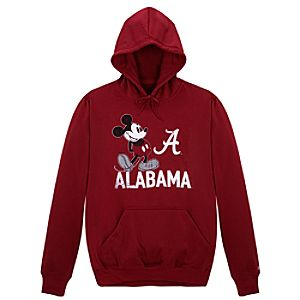 University of Alabama Mickey Mouse Hoodie for Men