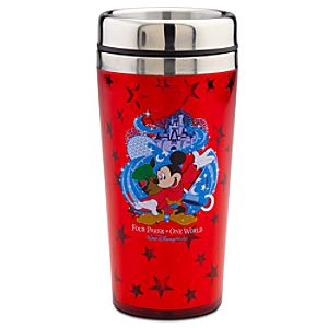Four Parks Walt Disney World Resort Travel Mug