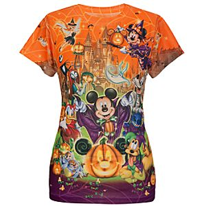 Halloween Mickey Mouse and Friends Tee