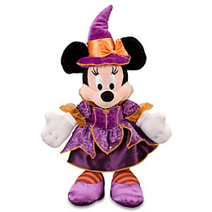 Halloween Minnie Mouse Plush -- 9