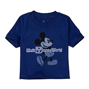 Blue Walt Disney World Mickey Mouse Tee for Infant Boys