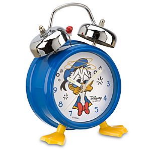 Donald Duck Alarm Clock with Feet