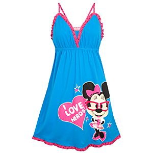 Nerds Minnie Mouse Nightgown for Women