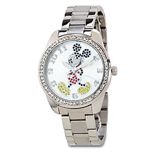Rhinestone Mickey Mouse Watch