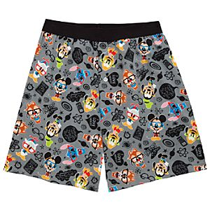 Nerds Mickey Mouse and Friends Boxer Shorts