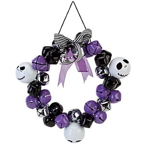 Jack Skellington Jingle Bell Wreath