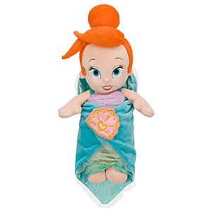 Disneys Babies Ariel Plush Doll and Blanket