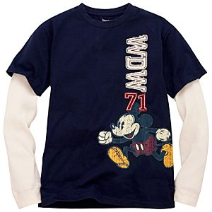 Double-Up Walt Disney World Mickey Mouse Tee