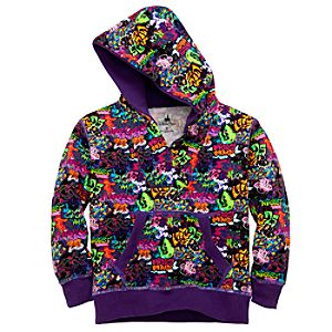 Hoodie Graffiti Mickey Mouse Sweatshirt