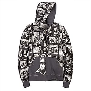 Hooded French Terry Disney Villains Jacket
