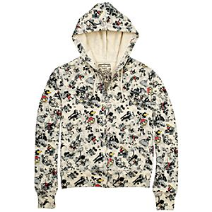 Classic Collection Mickey Mouse Hoodie for Women