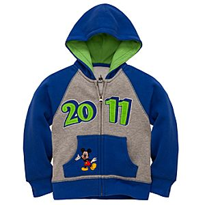 2011 Fleece Hoodie Walt Disney World Resort Jacket