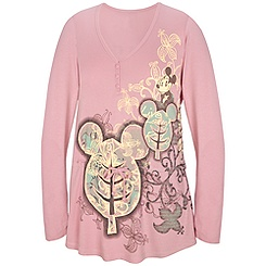 Organic Yoga Mickey Mouse Top