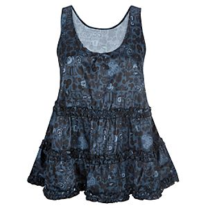 Ruffled Mickey Mouse Tank for Women