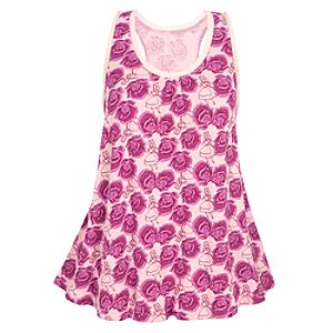 Pointelle Knit Alice and Wonderland Sleep Tank