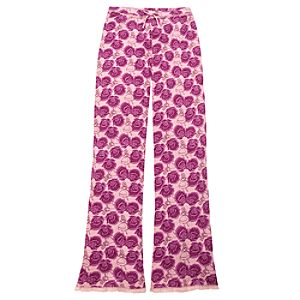 Pointelle Knit Alice in Wonderland Sleep Pants