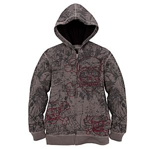 Hoodie Sketch Art Pirates Sweatshirt Jacket