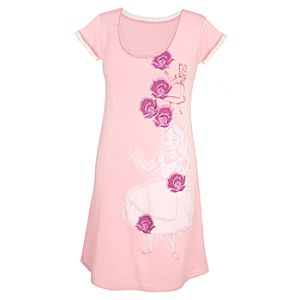 Pointelle Knit Alice in Wonderland Nightshirt