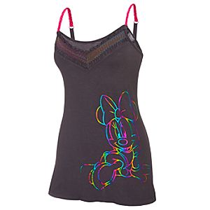 Rainbow Minnie Mouse Sleep Tank