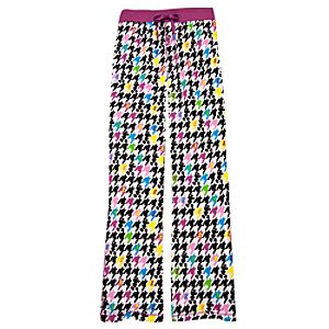Houndstooth Mickey Mouse Pajama Pants
