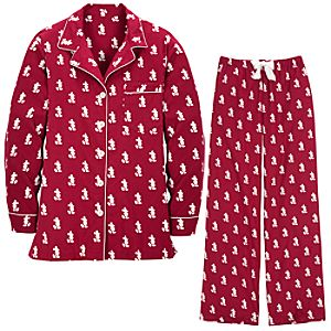 Classic Mickey Mouse Pajamas for Women