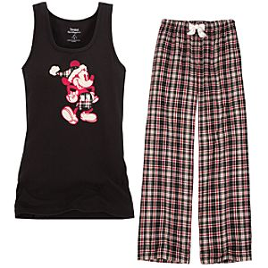 Santa Mickey Mouse Pajamas