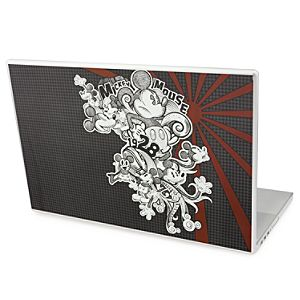 Urban Gear Removable Houndstooth Mickey Mouse Laptop Decal