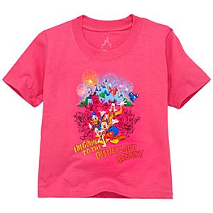 Disneyland Tee for Girls