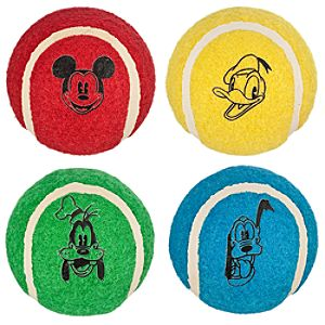 Walt Disney World Ball Set for Pets -- 4-Pc.