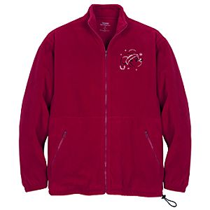 Santa Mickey Mouse Fleece Jacket