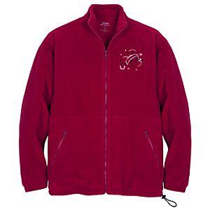 Santa Mickey Mouse Fleece Jacket