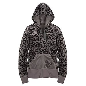 Hooded Velour Mickey Mouse Jacket